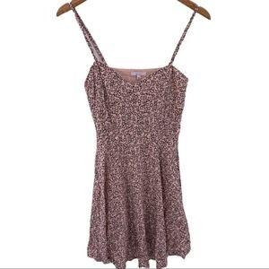 Talula sand all over floral print dress size 4